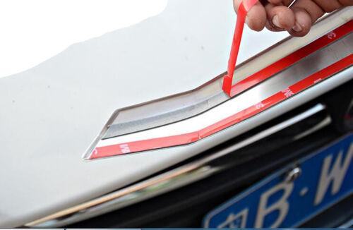 Chrome Front Rear Fog Light Lamps Cover Trim 4pcs for Ford Explorer 2011-2015