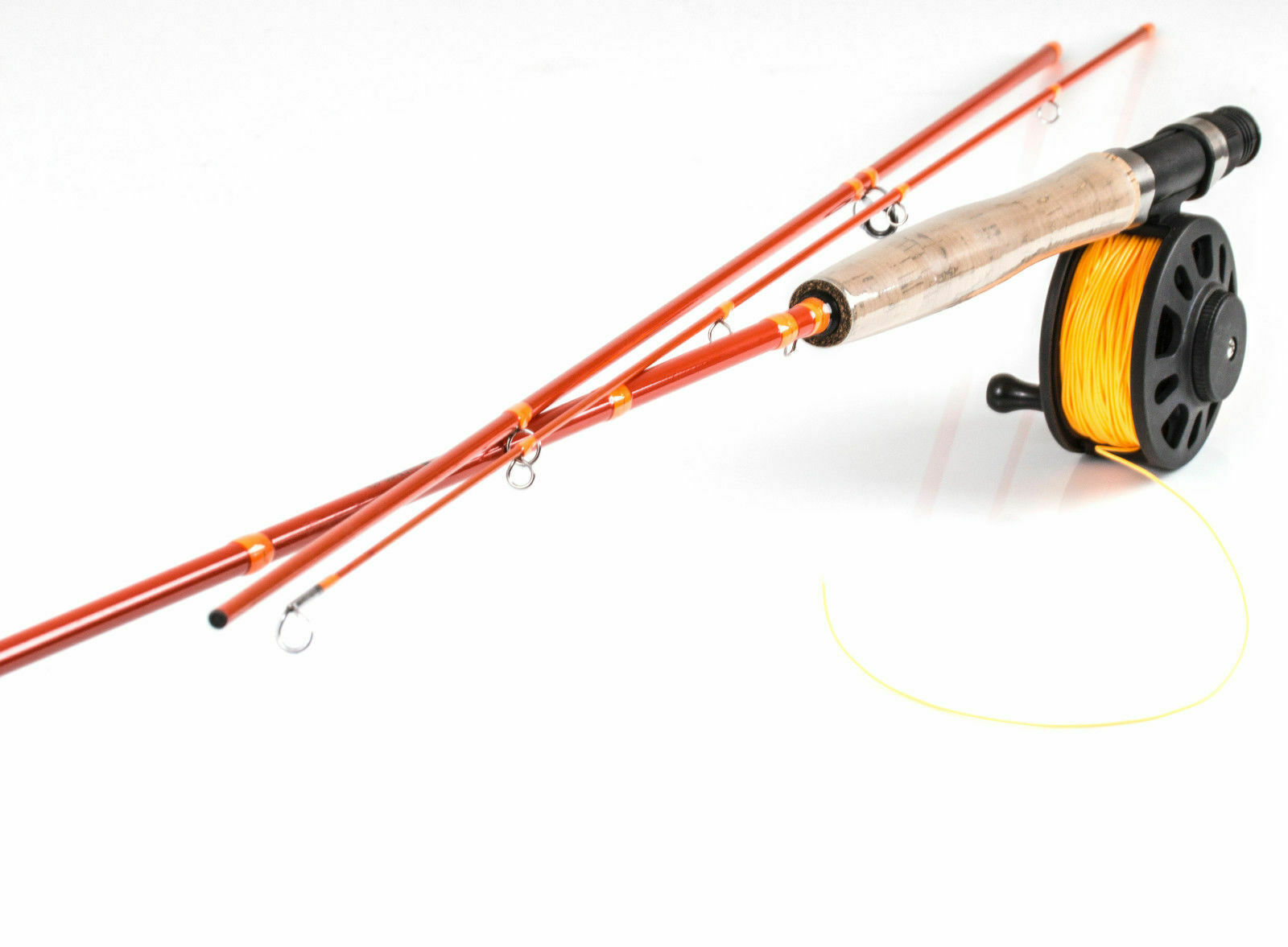 FLY Fishing RodFladen Warbird Pesca A Mosca Combo Set WF 6AFFARE