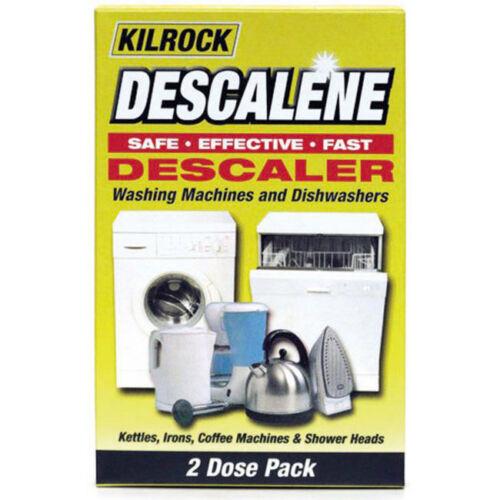 Kilrock descalene Descalcificador 2x50g-Lavadoras-Lavavajillas Hervidores hierros