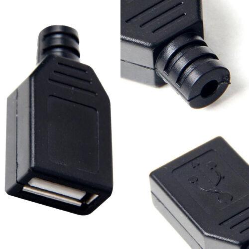 10X Connecteur Convertisseur USB Type A Femelle Boitier Adaptateur Transformeur