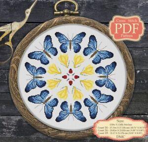 Blue-Butterfly-Mandala-Modern-Cross-stitch-Embroidery-PDF-Pattern-024