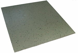 Details about Grey Indoor highest quality Terrazzo Hammer Grain rubber  tiles 500mm x 3 5mm