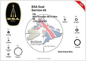 Full-Premium-Seal-Service-kit-Fits-BSA-Scorpion-SE-amp-Ultra-SE-0-177-amp-0-22-N