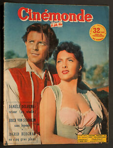 039-CINEMONDE-039-FRENCH-VINTAGE-MAGAZINE-GINA-LOLLOBRIGIDA-COVER-7-MARCH-1952