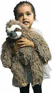 Three-Toed-Sloth-Stuffed-Animal-Plush-Toy