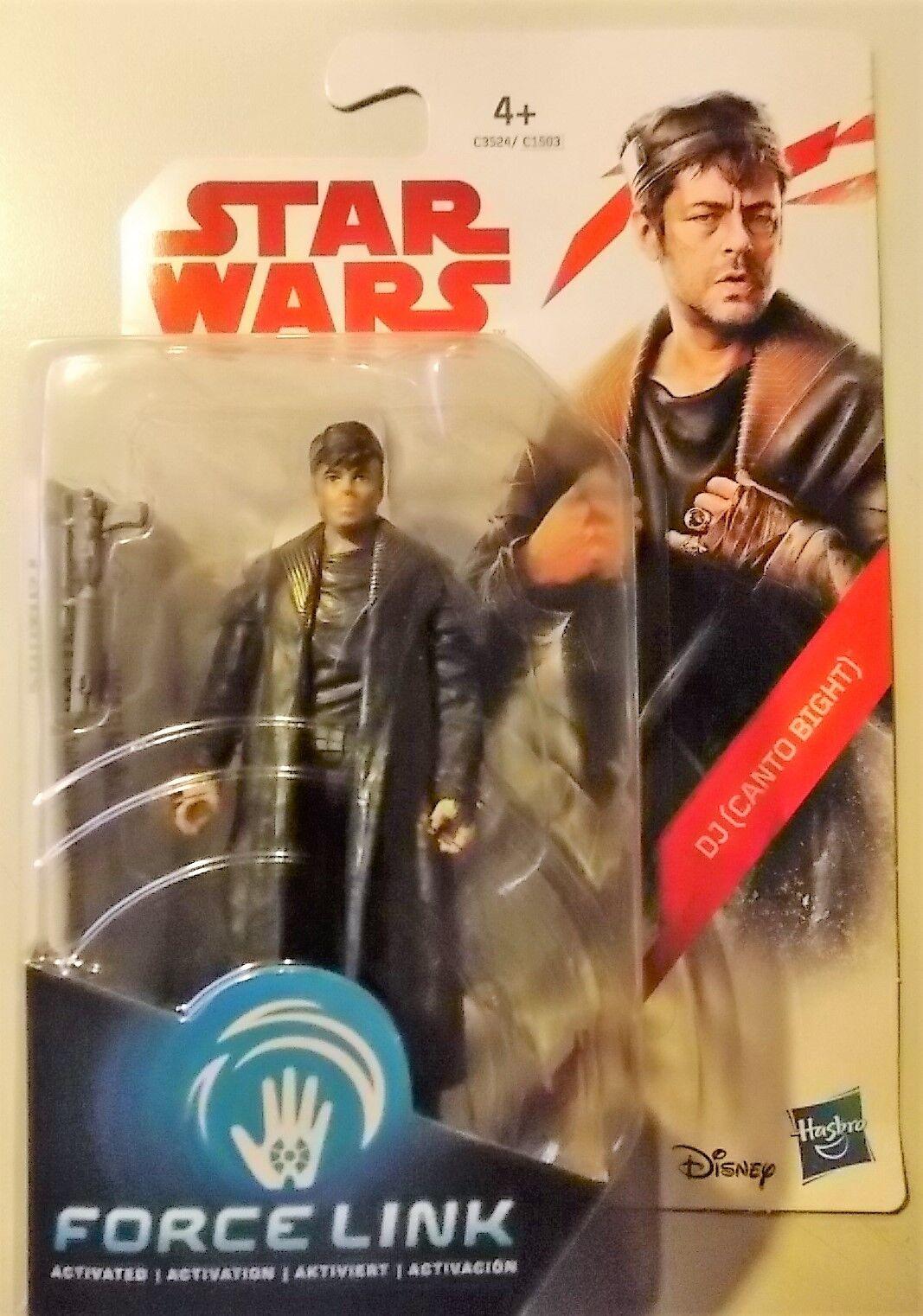 Hasbro Star Wars - The Last Jedi - Force Link - DJ Canto Bight - Figurine - NIP
