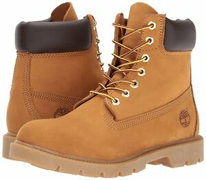 3d8d8deb086 Details about Timberland 6 INCH BASIC Mens Wheat Nubuck TB018094 Waterproof  Boots