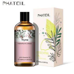 PHATOIL-100ML-Thym-100-Pure-Aromatherapie-Huiles-Essentielles-Bio-Avec-Boite