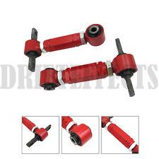 G1 RED CIVIC CRX DEL SOL INTEGRA EF EG EK DA DC2 REAR ADJUSTABLE CAMBER ARM KIT