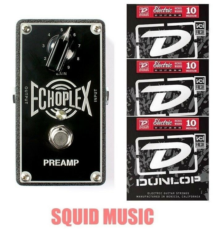 MXR Dunlop Echoplex Preamp EP101 Reproduction Of EP-3 EP-101 (3 SETS OF STRINGS)