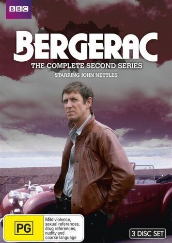 1 of 1 - Bergerac : Series season 2 (DVD, 2011, 3-Disc Set) NEW REGION 4 Brand New Sealed