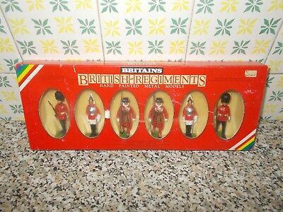 Apprensivo British Regiments Britains N.7226 Set In Scatola(box) Nuovi(new) Non Giocati Elegante Nello Stile