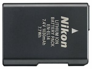 Nueva-Recargable-Li-Ion-Bateria-Camara-EN-EL14-Para-Nikon-P7000-D3100-D3200-D5100