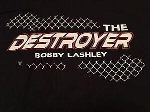 Tna Bobby Lashley Xl T Shirt The Destroyer Impact Wrestling New Bl