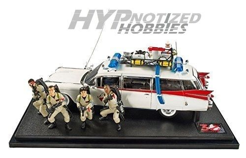 HOT WHEELS ELITE 1:18 GHOST BUSTERS ECTO 1 30TH ANNIVERSARY BLY25