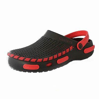 Hombre Mujer Unisex Slip On Suecos Zapatos ducha playa mulas