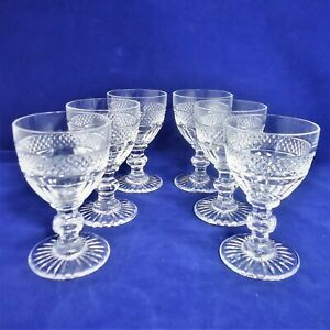 suite-de-6-verres-a-vin-cristal-de-Saint-Louis-Trianon-Ref-A23-8-wine-glasses