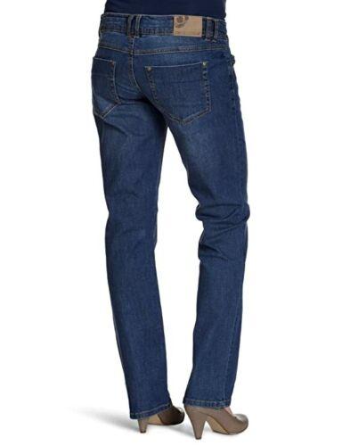 MAMALICIOUS MATERNITY BLUE DIONNE SLIM STRAIGHT LEG JEANS SIZE 8 10 12 LONG BNWT
