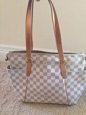 Louis Vuitton Damier Azur Totally PM Tote Shoulder Bag