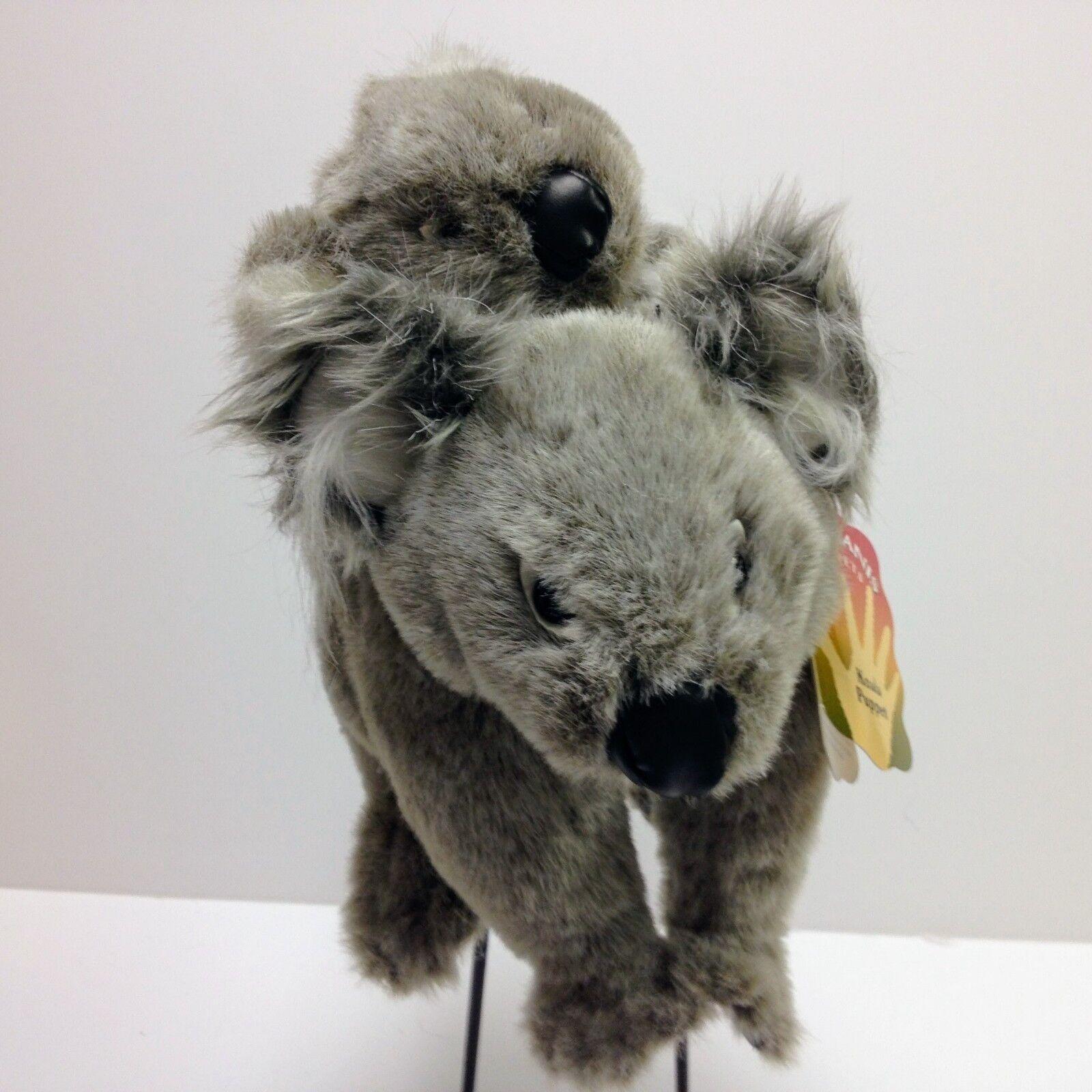 Folkmanis Koala med bebis set hand Puppet 2511 RARE NWT