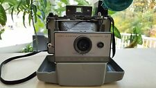 Vintage Polaroid Automatic 103 Land Camera with Carrying Case, Manual and Flash