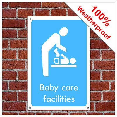 restroom and changing room notices Baby changing room symbol sign INF46 Toilet