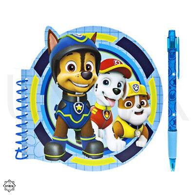 Kids Notebook Paw Patrol Stationary Set Paw Patrol Circular Notebook with Pen