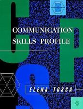 Communication Skills Profile
