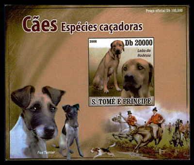 Vornehm S.tome Epreuve De Luxe Hunde Hund Dogs Dog Chiens Chien Deluxe Sheet Dr41