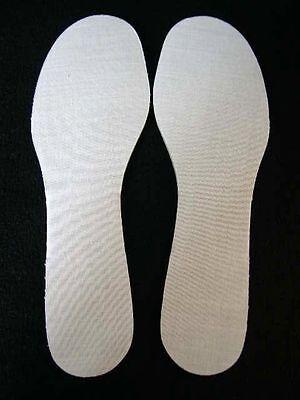 Extra GRANDE zapato adulto tamaño de Reino Unido 15 plantillas Grueso Corte listo EU 50 Muy Grande