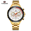 Automatik-Multifunktion-Herren-Uhr-Blau-Silber-Farben-Edelstahl-Armband-Uhren Indexbild 8