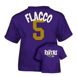 127e7b15 Details about ($22) Baltimore Ravens JOE FLACCO nfl INFANT BABY NEWBORN  Jersey Shirt 12 Months