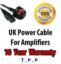 UK Mains Power Lead Cable Cord For ZT Lunchbox Club Guitar AMP Amplifier