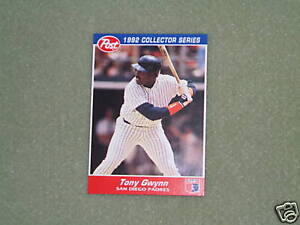 Details About Tony Gwynn Post Cereal Card 26 1992