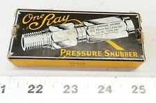 Vintage Nos One Ray Pressure Snubber 25s 2ab 3000 Psi Capacity Pn 11416 2
