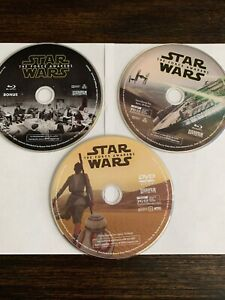 Star-Wars-The-Force-Awakens-Blu-ray-DVD-3-Disc-Set-NO-CASE-PREOWNED