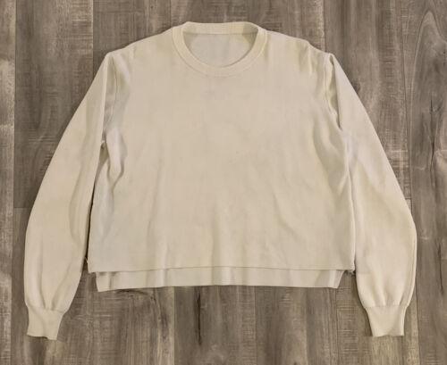 Acne Studios Crop Sweater Womens Side Zip Top Size