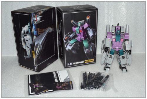 Transformers Zeta toys ZA-02 Armageddon Whirlblade Vortex in Stock