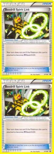 Pokemon 2 X Beedrill Spirit Link XY Promos Number XY159 Rarity Promo