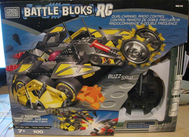Mega Bloks Battle RC Télécommande Controll Mini Con Dépanneuses Buzzsaw  100