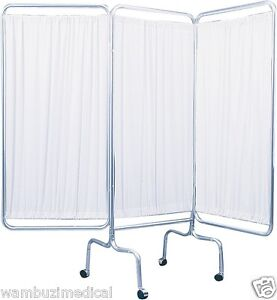 privacy screen medical doctor office 3 panel patient room