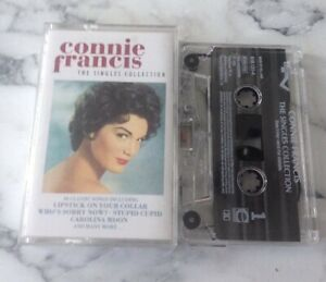 Music-Cassette-Tape-Connie-Francis-The-Singles-Collection