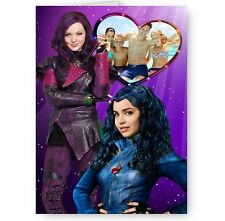 Personalised Photo Disney Descendants A5 All Occasion Card
