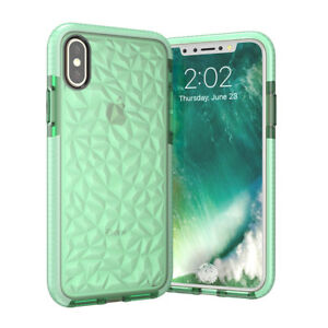 3D-Case-For-iPhone-7-6-6S-8-Plus-X-Soft-Shockproof-TPU-Crystal-Shining-Case