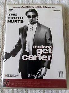 GET CARTER – DVD, REGION-4, LIKE NEW, FREE SHIPPING IN AUSTRALIA