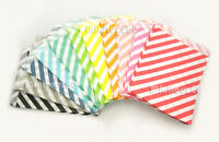 24 Striped Paper Bags Party Treat Candy Wedding Baby Shower Polka Dot Us Ship
