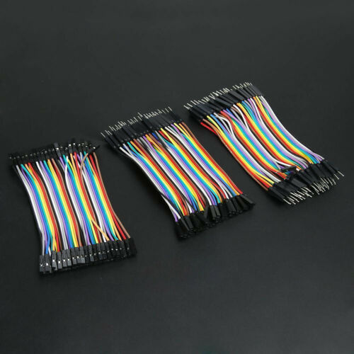 120x//kit Male To Female Dupont Wire Jumper Cable For Arduino Breadboard Set