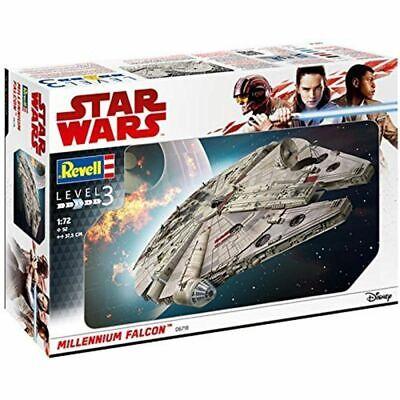 Cordiale Revell 06718 Star Wars Millennium Falcon Kit Model - Scala 1:72 - Nuovo Buona Conservazione Del Calore