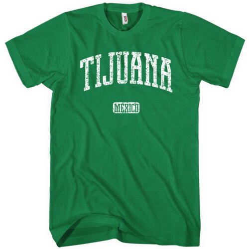 Tijuana Mexico T-shirt Men S-4X Gift TJ Tijuanan Club Toros de Mexicano Raza