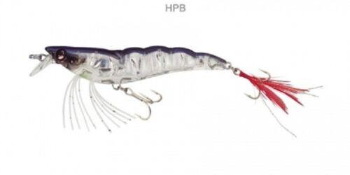 "Yo-Zuri F988-HPB Crystal 3D Shrimp Holographic Pearl Blue 3 1//2/"" 90 mm Lure"